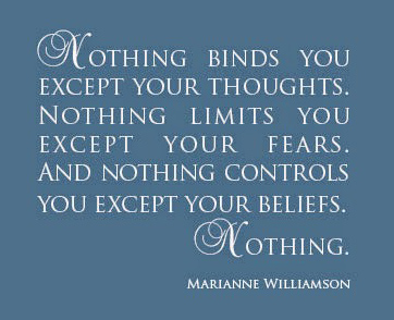 """Nothing"" Quote by Marianne Williamson"